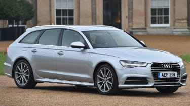 The handsome Audi A6 Avant is a rival to the BMW 5 Series Touring and Mercedes E-Class Estate
