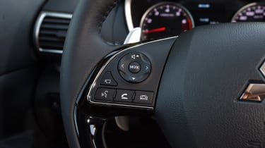 ...and allows easy access to infotainment and communications features
