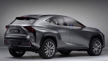 Lexus 4x4 LF-NX concept 2013 rear
