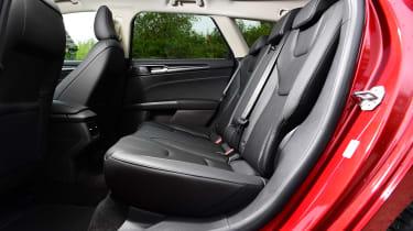 Ford Mondeo hybrid rear seats