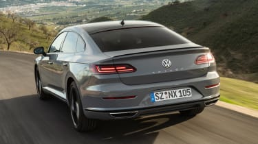 Volkswagen Arteon R-Line Edition driving - rear view