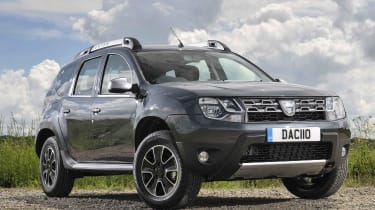 It may be an affordable SUV, but the Duster certainly looks the part