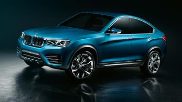 BMW X4 2013 front quarter