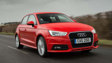 The A1 Sportback is the more practical five-door version of the Audi A1
