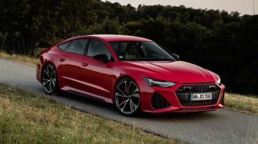 Audi RS7 static - front side