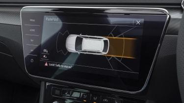 2019 Skoda Superb facelift - park distance visual warning
