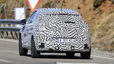 2020 Renault Captur hybrid - rear