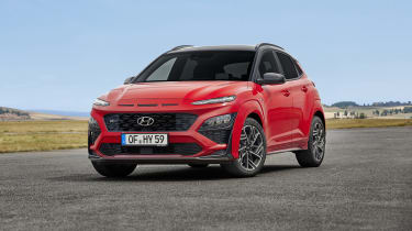 2020 Hyundai Kona N Line - Front 3/4 static