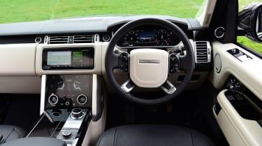 2020 Range Rover Vogue P400 - Dashboard view