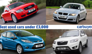 Best used cars for £3,000 header