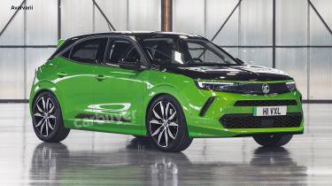 Vauxhall Mokka-e VXR render