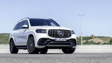 Mercedes-AMG GLS 63 - low angle