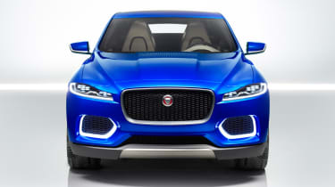 Jaguar C-X17 4x4 concept 2013 front on