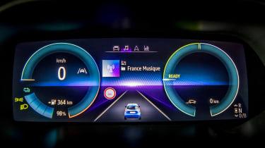 New Renault ZOE - digital dash setup