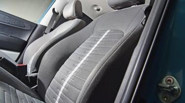 2020 Hyundai i10 front seats