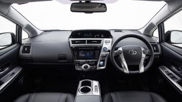 Toyota Prius+ MPV interior