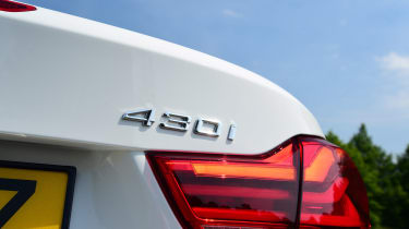 Sitting in the middle of the range, the 2.0-litre BMW 430i is quick, getting from 0-62mph in 6.4 seconds