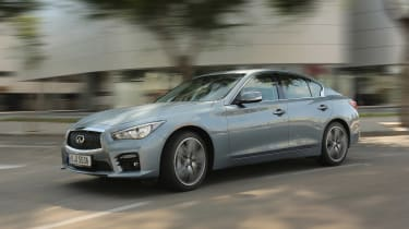 One of the Q50 Hybrid's biggest strengths is excellent interior refinement, boosted by noise cancelling technology