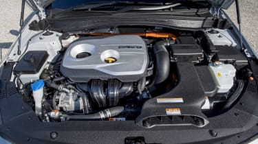 A 2.0-litre petrol engine is combined with an electric motor to produce 202bhp