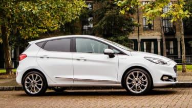 Ford Fiesta Vignale - side