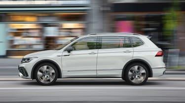 2021 Volkswagen Tiguan Allspace - side on view