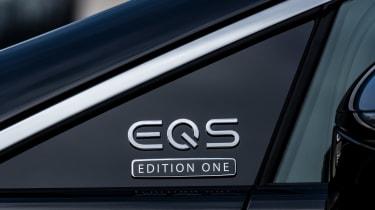 2021 Mercedes EQS badging