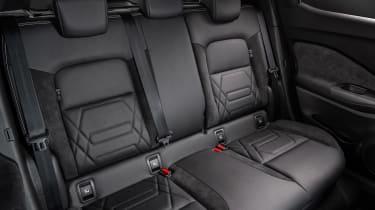 New Nissan Juke rear seats