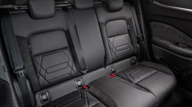 New Nissan Juke rear seats