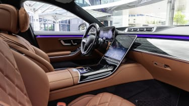 2020 Mercedes S-Class - interior and dashboard