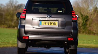 Toyota Land Cruiser Utility rear static