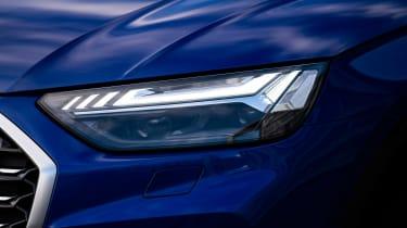 Audi Q5 Sportback SUV headlights
