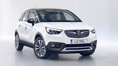 The Crossland X is Vauxhall's answer to small SUV crossovers like the Renault Captur and Peugeot 2008