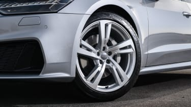 Audi A7 Sportback hatchback alloy wheels