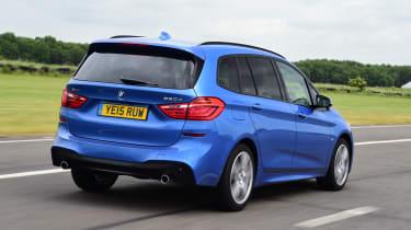 BMW 2 Series Gran Tourer - rear 3/4 view