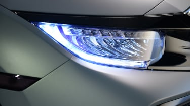 Smart new LED headlamps are available on the new Honda Civic