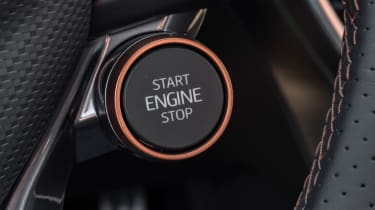 Cupra Formentor SUV review engine start button