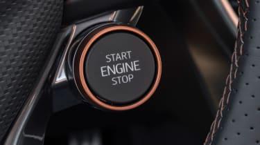 Cupra Formentor SUV review engine start button