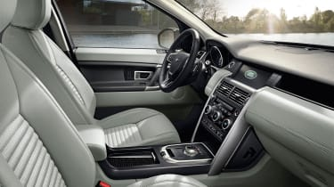 The interior is luxurious and high quality