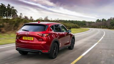 Mazda CX-5 Kuro driving - rear
