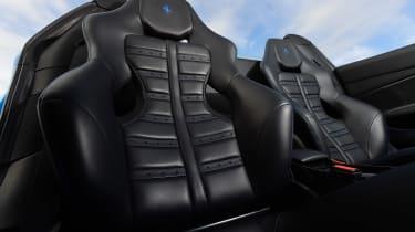 Ferrari 488 Spider convertible bucket seats