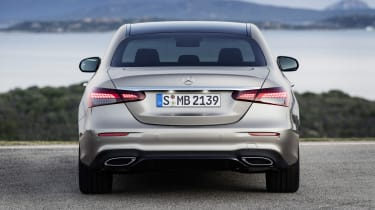 Mercedes E-Class - rear view