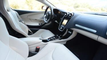 McLaren GT interior - side view