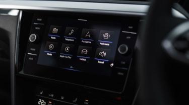 Volkswagen Arteon Shooting Brake estate infotainment display