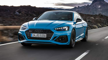 2020 Audi RS5 Coupe - front 3/4 dynamic