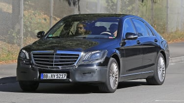 Along with a subtle makeover, the Mercedes S-Class will be fitted with a straight-six petrol for the first time in years