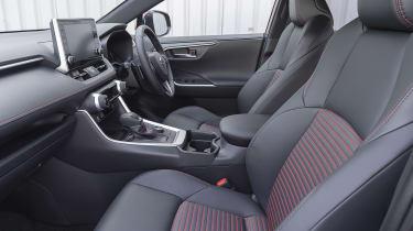 Suzuki Across SUV front seats