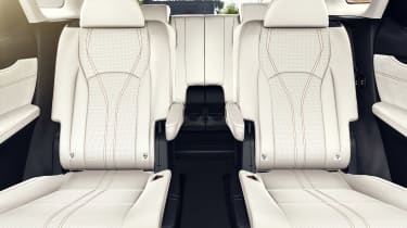Lexus RX L with captain's chairs instead of three-seat bench