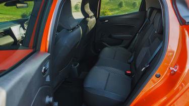 Renault Clio - rear seats