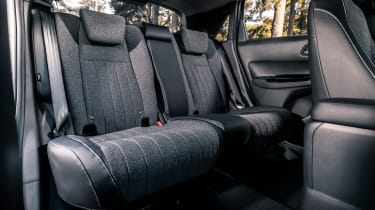 Honda Jazz hatchback rear seats