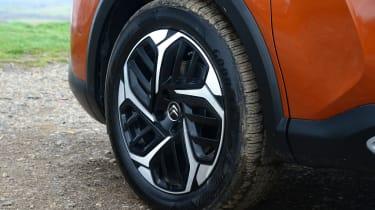 Citroen C4 hatchback alloy wheels